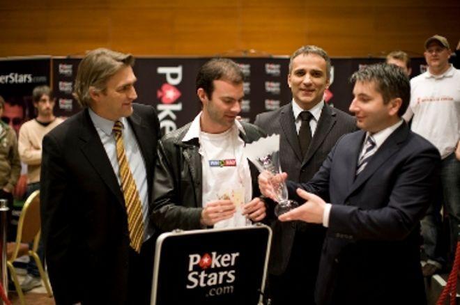 PokerStars.net EPT v Praze, finálový stůl: Mattern, šampion v backgammonu triumfuje 0001