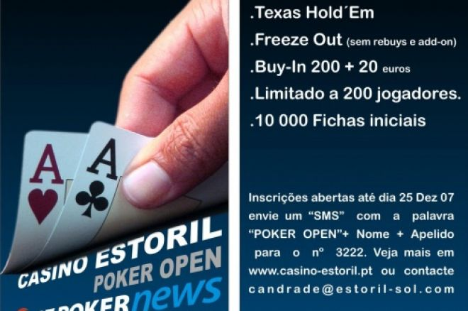 Casino Estoril Poker Open – PT.PokerNews 29 & 30 December 0001