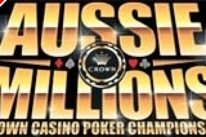 Mansion Poker からAussie Millionsへ 0001