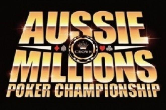 Aussie Millions: Turniej 1, $1,100 NLHE, Dzień 1 0001