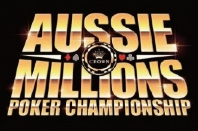 Aussie Millions: Event #1, 1.100$ NLHE, Tag 1 0001