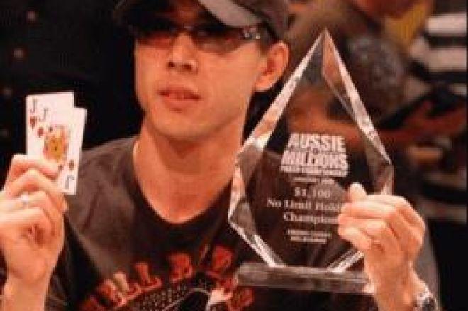 Aussie Millions, イベント#1, $1,100 NLHE – Vincent Wan優勝 0001