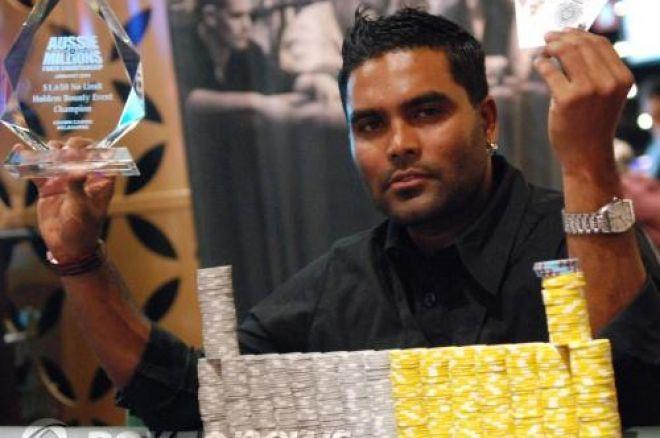 Aussie Millions, Event #6, $1,650 'Bounty' NLHE - Marlon Goodawardne Parádé! 0001