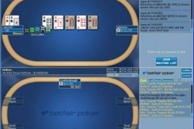 Store penger skifter hender i Betfair Poker sine cash games 0001