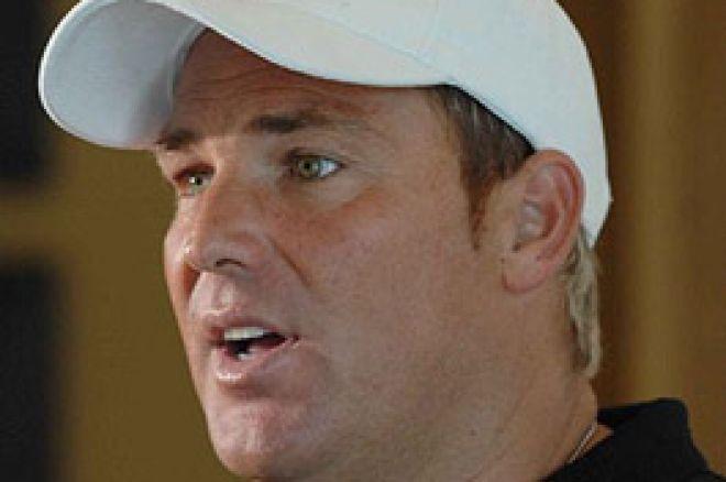 Cricket Star Shane Warne Joins 888.com Poker Team 0001