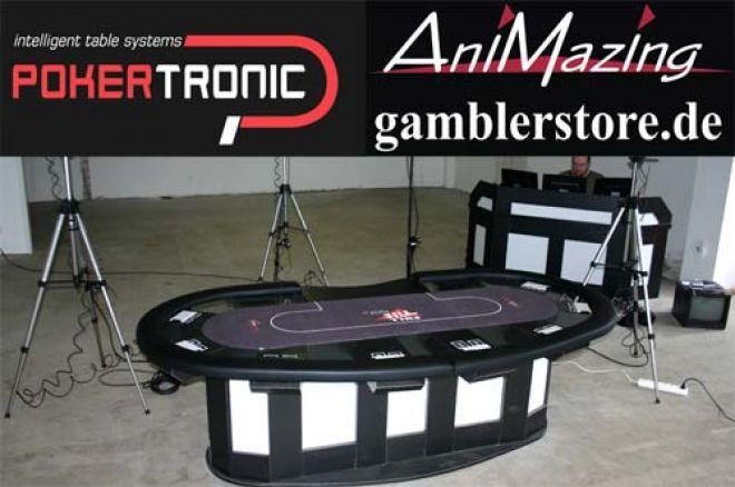 """""""Pokertronic"""" – die nächste Pokertisch Generation 0001"""