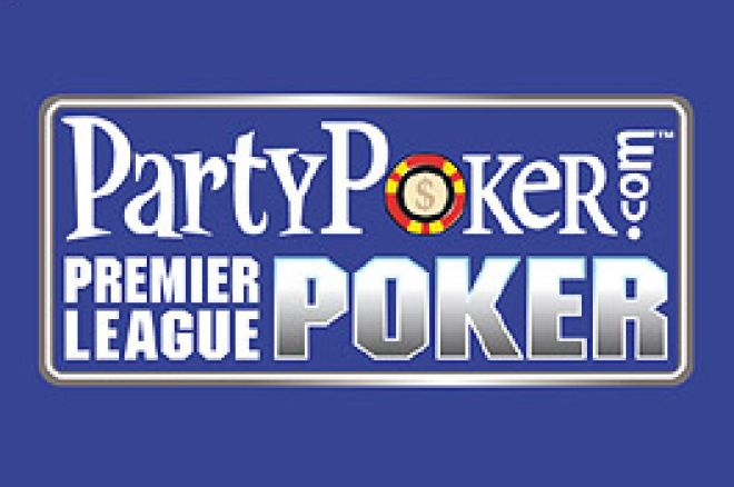 The PartyPoker Premier League is LIVE on UK PokerNews 0001