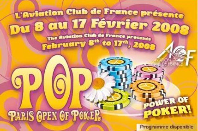 Paris Open of Poker du 8 au 17 février 2008 à l'Aviation Club de France 0001
