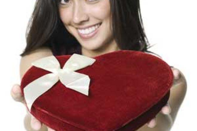 Statt am Valentinstag Rosen zu verschenken spiele lieber Poker! 0001