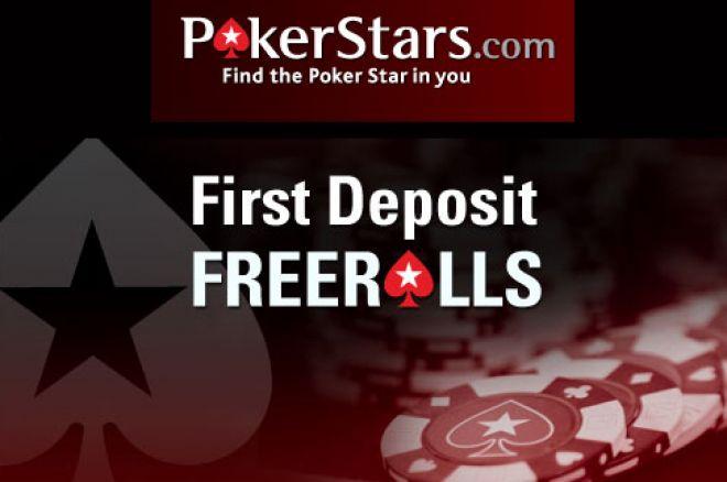 Freeroll na Poker Stars para Jogadores que Façam o 1 Depósito - $30,000.00 Total 0001
