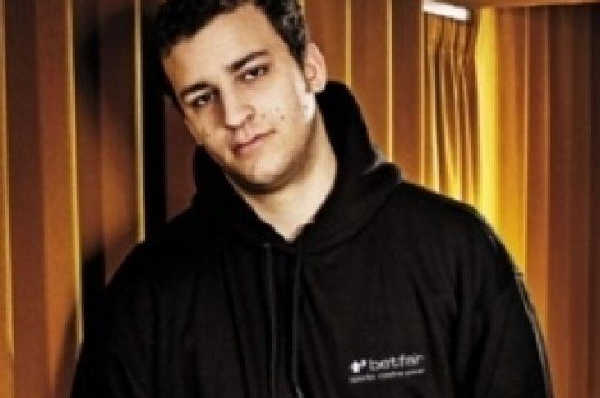 Sorel Mizzi nel Team Betfair Poker 0001