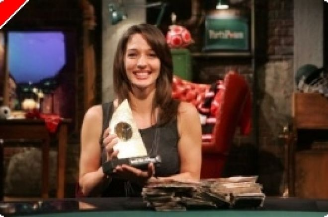 Kara Scott gewinnt PartyPoker Sports Stars Challenge 0001