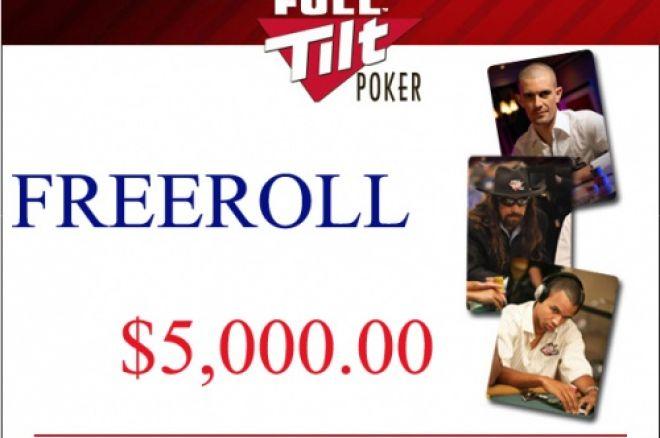 Full Tilt Poker - Freeroll $5,000 Jogadores Brasileiros Primeiro Depósito 0001