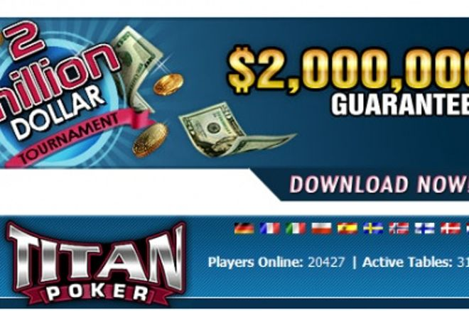 ECOOP II. Torneio de $2,000,000 Guaranteed & Freerolls Exclusivos na Titan Poker! 0001
