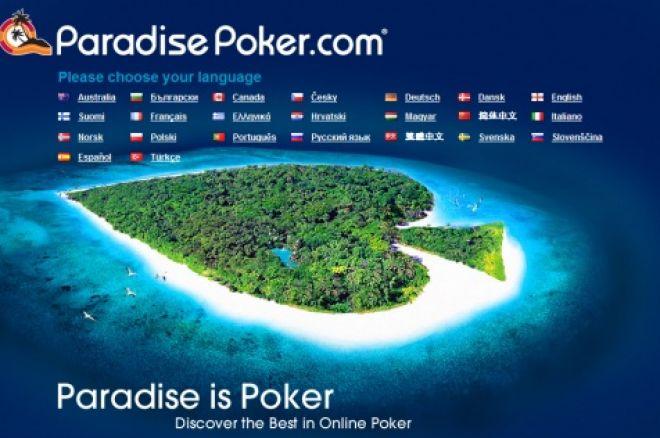 Freeroll €10,000 na Paradise Poker – Sábado 1 Março 0001