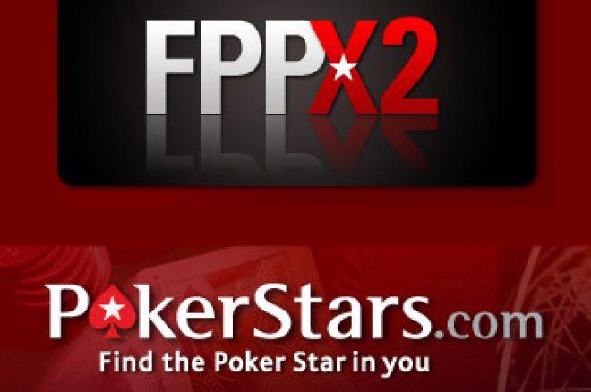 Duplique os seus FPP na Poker Stars Hoje – 6ªFeira 29 Fevereiro 0001