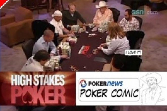 High Stakes Poker Cómico! Negreanu vs Benyamine 0001