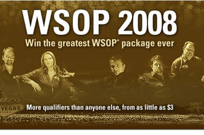 Les satellites pour les WSOP 2008 arrivent sur PokerStars 0001