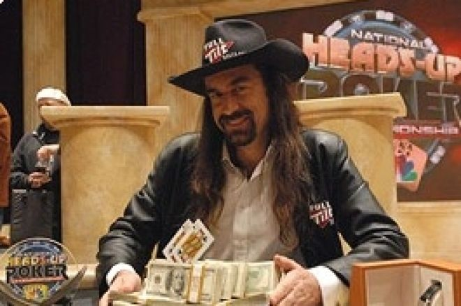 'Jesus' Ferguson 2008 NBC National Heads-Up Poker Championship で優勝 0001