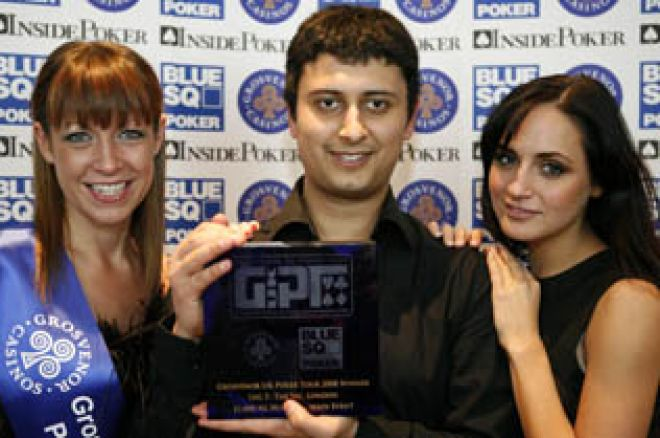 Ketul Nathwani Wins the GUKPT: London 0001