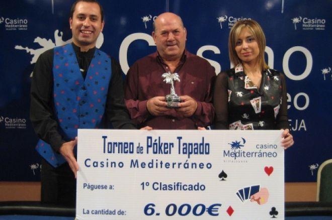 Luis Perdiguero se impone en el torneo de tapado del casino de Villajoyosa 0001