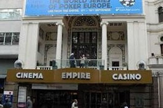 Anunciadas las fechas de las World Series of Poker Europeas 2008. 0001