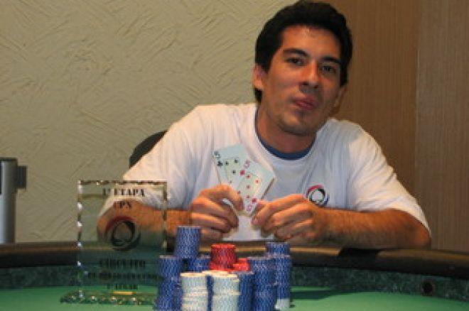 Celso Nuzema Campeão 1ª Etapa Circuito PT.PokerNews Brasil 0001