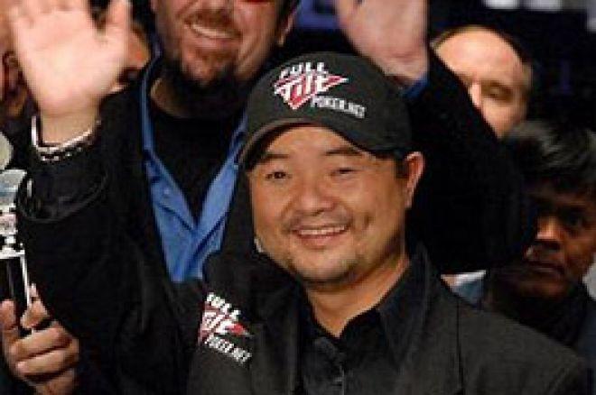 Jerry Yang, champion du monde WSOP 2007 et généreux donateur 0001