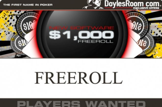 Freeroll $1,000 na Doyle Brunson Sábado 12 Abril 0001