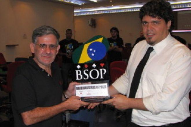 Cláudio Sobral ganha a Etapa Rio de Janeiro do BSOP 0001