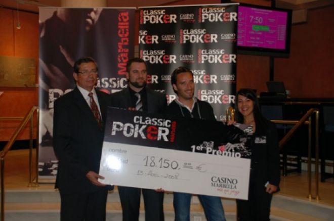 Tim Chawes vencedor del I Marbella Classic Poker 0001