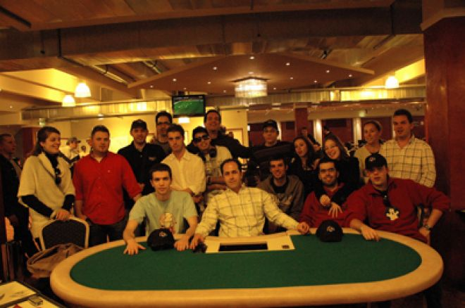 11 Portugueses Sobrevivem ao Dia 1 B da Poker News Cup Áustria 0001