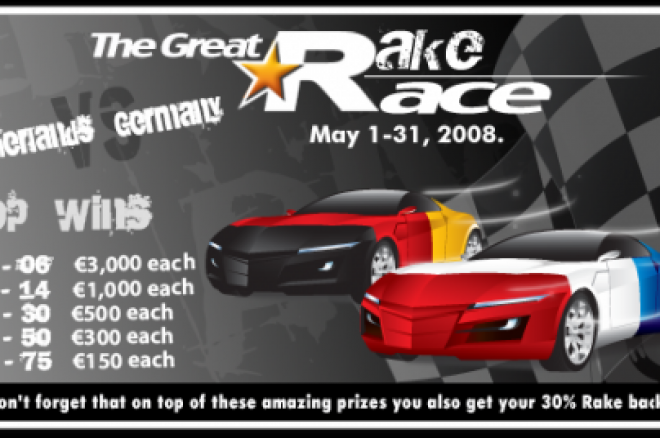 T6-Poker Rake Race: Deutschland gegen Holland 0001