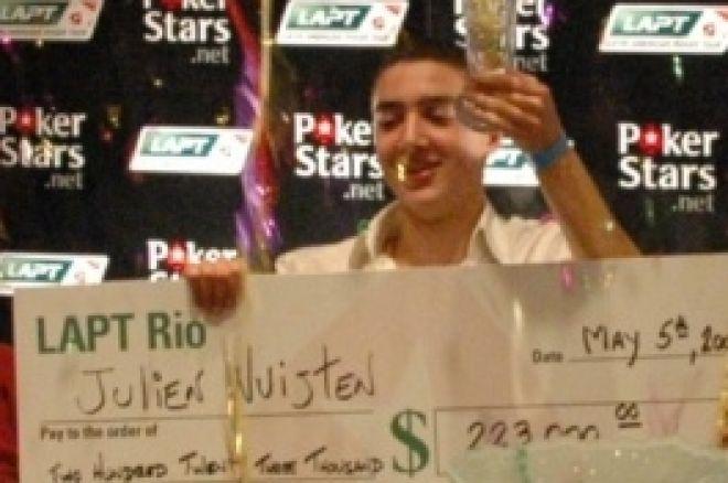 Julien Nuijten wint LAPT! | Overig Poker Nieuws 0001