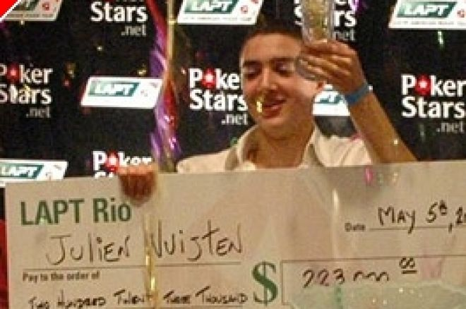 Le Tournoi Pokerstars Latin America Poker Tour (LAPT) - Julien Nuijten remporte le LAPT de... 0001
