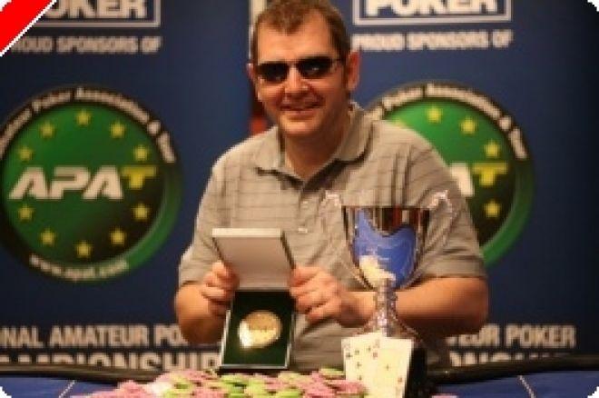 Jason Jones gewinnt die APAT Scottish Amateur Poker Championship 0001