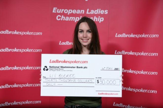Liv Boeree is the Ladbrokes Poker European Ladies Champion 0001