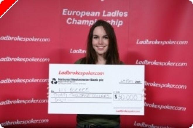 Liv Boeree vence en el primer campeonato femenino europeo de Ladbrokes Poker 0001
