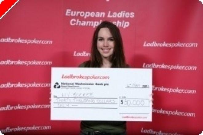 Liv Boeree가 Ladbrokes Poker European Ladies의 챔피언에게 0001