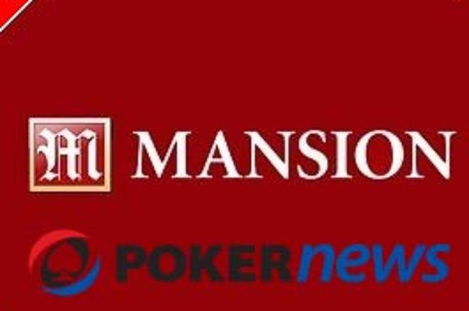 PokerNews и Mansion Poker Пускат Фрийроли на Стойност $18,000 0001