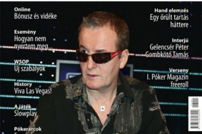 Megjelent a Póker Magazin Első Száma! 0001