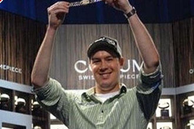 Grant Hinkle vinner event #2 i WSOP 2008 0001