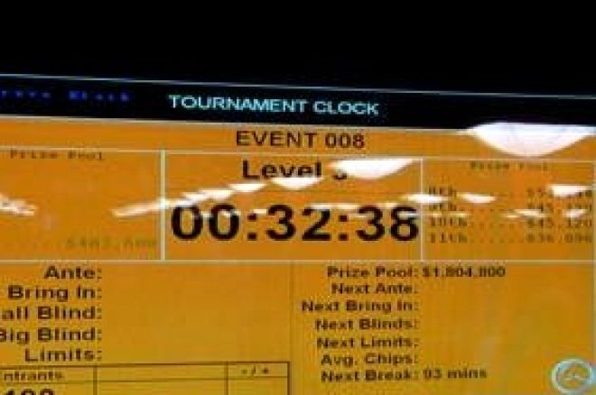 World Series of Poker Daily Summary for June 4th, 2008 0001