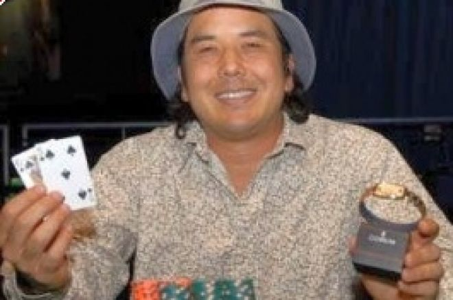 2008 WSOP Събитие #7, $2,000 NLHE Финална Маса: Matt Keikoan Печели 0001
