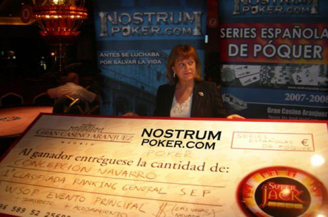 Chelo Navarro se lleva el anual de las series españolas de póquer 0001