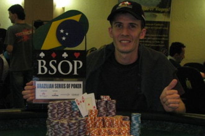 Cláudio  Ramos ganha a 5ª Etapa BSOP 0001
