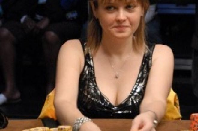Svetlana Gromenkova vinner damenes World Championship i WSOP 2008 0001