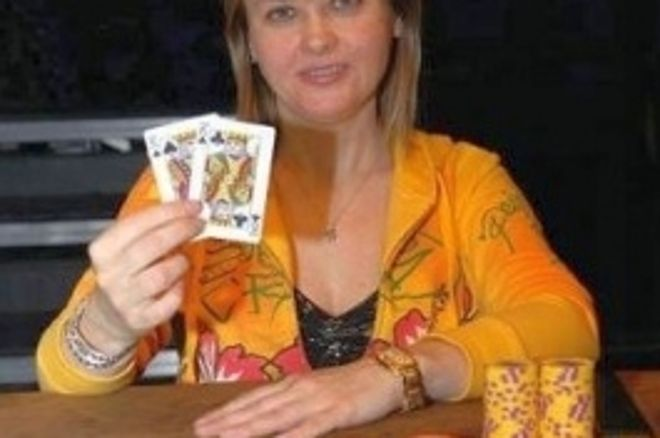 2008 WSOP Събитие #15 $1,000 Ladies World Championship: Gromenkova Печели 0001