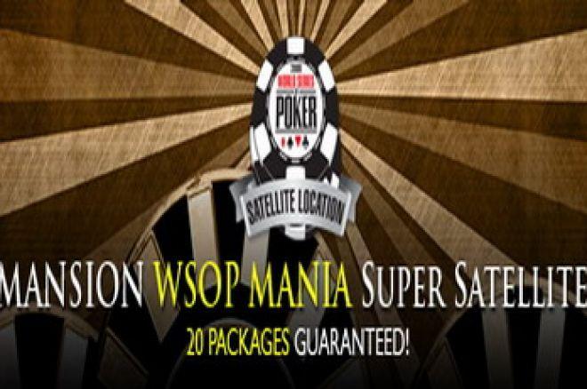 Mansion: WSOPMANIA 20 Lugares Garantidos! 0001
