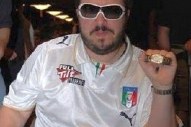 WSOP 2008 Evento 24, 2.500$ Pot-Limit Hold'em/Omaha: Max Pescatori se adjudica el brazalete 0001